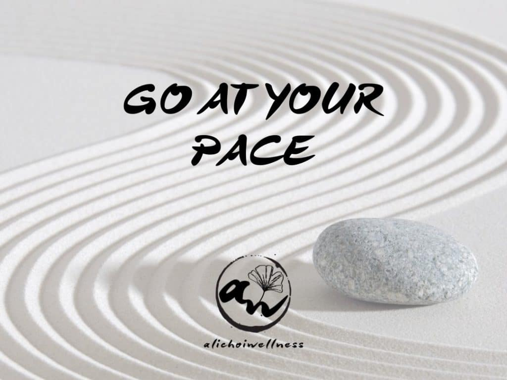Go At Your Pace